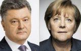 Порошенко и Меркель в Давосе обсуждали кибербезопасность на выборах президента Украины