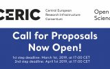Announcement: CERIC call for proposals now open!